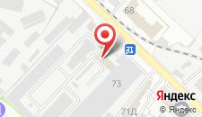 Отель Амарант на карте