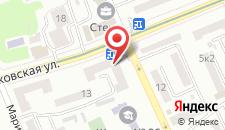 Семейный отель Lyudvig Goloseevskiy на карте