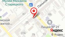 Апартаменты Ukrainian Service на карте