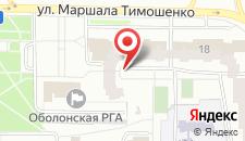 Хостел Минский на карте