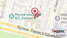 Отель Hilton Kyiv на карте