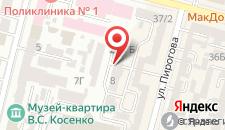 Бутик-Отель Инкогнито на карте