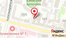 Отель City на карте
