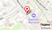 Отель Radisson Blu Hotel на карте