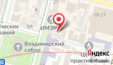 Апартаменты Хоум на Золотых Воротах на карте