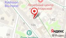 Хостел Делиль на карте