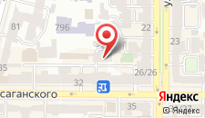 Хостел Yourhostel Olimpiyskiy на карте