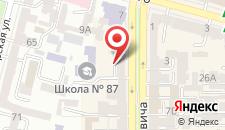 Апартаменты Mansard Apartment Antonovicha 4 на карте