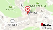 Апартаменты Панорама на Андреевском на карте