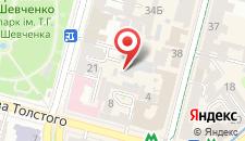 Апартаменты Bogdan Hall DeLuxe на карте