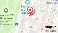 Апартаменты Two bedroom apartment in center at 13 Tereshinkovs на карте
