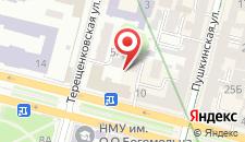 Апартаменты Алекс на Пушкинской на карте