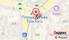 Апартаменты Flat Аrea Khreschatyk на карте