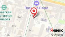 Апартаменты Пушкинская на карте