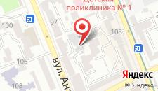 Мини-отель Дворец Украины на карте