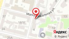 Апартаменты Best Kiev на Малоподвальной на карте