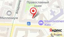 Апартаменты Home Hotel Apartments on Mykhailivska Square - Kie на карте