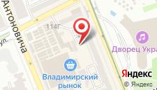 Хостел Like Hostel Kiev на карте