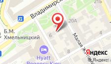 Апартаменты КиевРент на карте