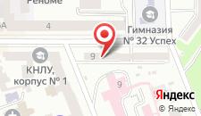 Мини-отель Киев на карте