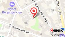Апартаменты KievAccommodation Apartment На Гринченко на карте