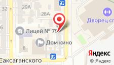 Апартаменты Ок у Дворца Спорта - Киев на карте