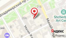 Апарт-отель На Площади Независимости на карте