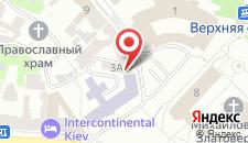 Апартаменты Kiev Lodging на карте