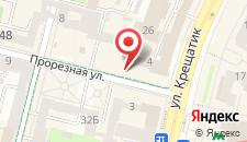 Апартаменты Ольга на Крещатике на карте