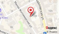 Апартаменты Крещатик на карте