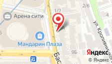 Апартаменты На Бассейной на карте