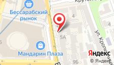 Апарт-отель Бассейная на карте