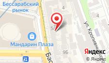 Апартаменты Бессарабка на карте