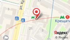Апартаменты KievHall на карте