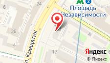 Апартаменты на улице Крещатик, 13 на карте