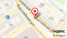 Апартаменты Arena на карте