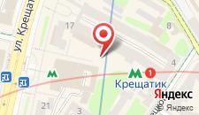 Апартаменты на улице Крещатик 15 на карте
