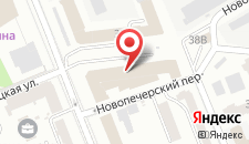 Отель ALFAVITO на карте