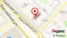 Апартаменты Шелковичная на карте