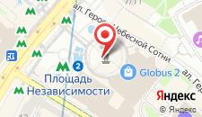 Отель test на карте