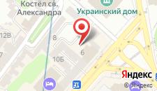 Апартаменты Apartment Khreschatyk 4 на карте