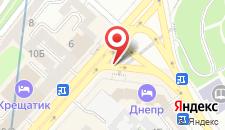 Отель Dnipro Budget на карте