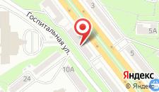 Апартаменты Rentkiev Pechersk на карте