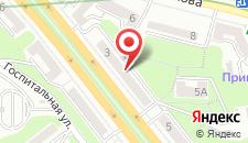 Апартаменты Бессарабский квартал на карте
