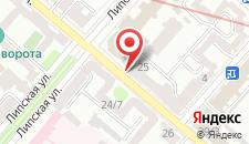 Апартаменты Lypki Luxury на карте