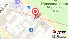 Апартаменты KievAccommodation на Грушевского на карте