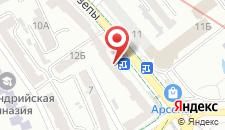 Апартаменты Downtown Kiev Apartment на карте