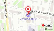 Бизнес-отель Луки Сервис на карте