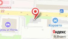 Отель День и Ночь на карте
