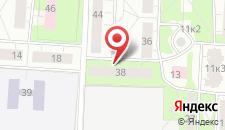 Апартаменты На Ленина 38 на карте